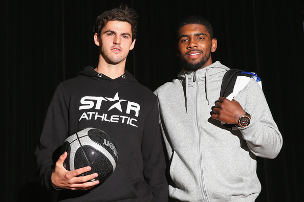 The day Pendlebury met Kyrie Irving (July 2013)